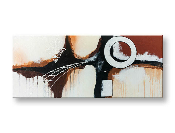 >Black Friday 50%< Tablouri pictate DeLUXE ABSTRACT 40x95 cm YOB128D1/24h