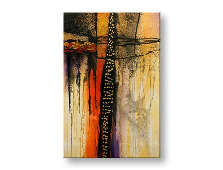 >Black Friday 50%< Tablouri pictate DeLUXE ABSTRACT 60x90 cm YOB130D1/24h