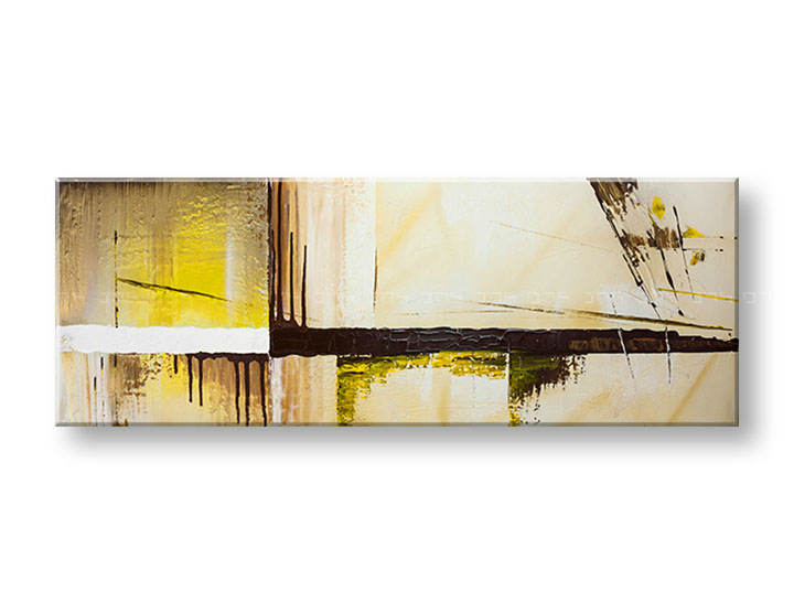 Tablouri pictate pe canvas Reducere 24% DeLUXE ABSTRACT 40x110 cm YOB132D1/24h