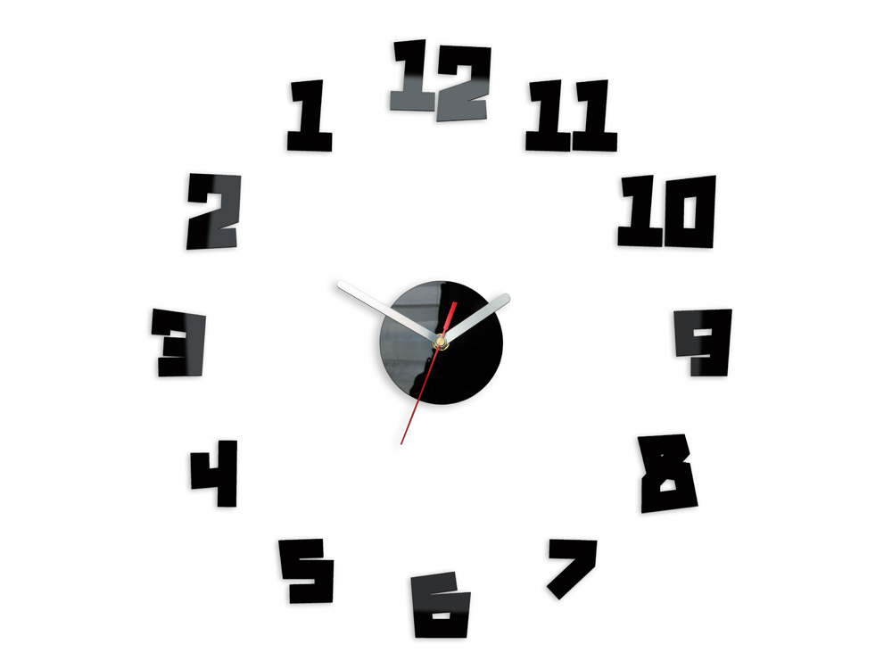 Ceas de perete modern CRAZY CLOCK - BACK IN TIME NH030