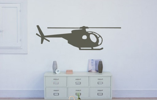 Stickere HELICOPTER NAH004