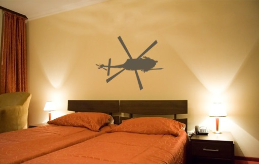 Stickere HELICOPTER NAH009