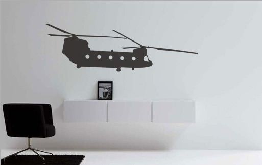 Stickere HELICOPTER NAH020
