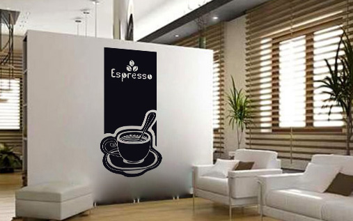 Stickere COFFEE NAKA020