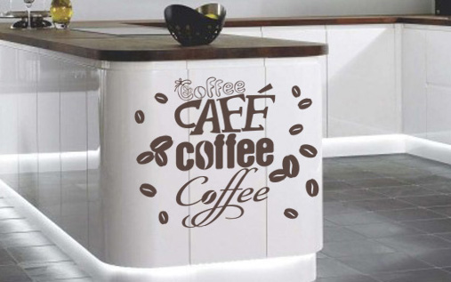 Stickere COFFEE NAKA037