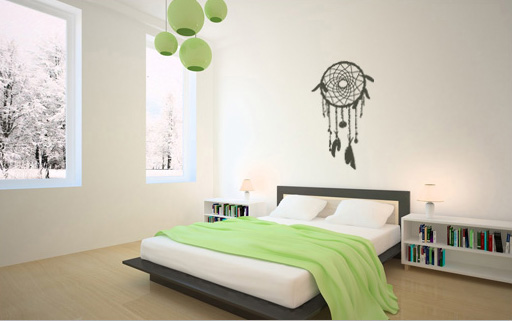 Stickere pentru pereți DREAM CATCHER NALS005