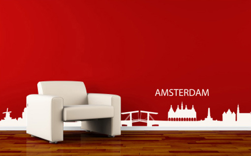 Stickere AMSTERDAM NAME010