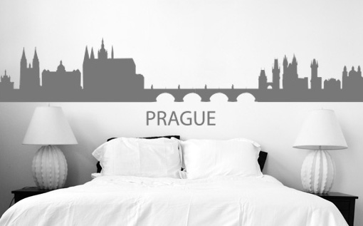 Stickere PRAGUE NAME015