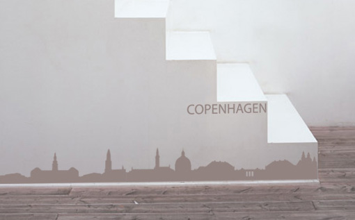 Stickere COPENHAGEN NAME016