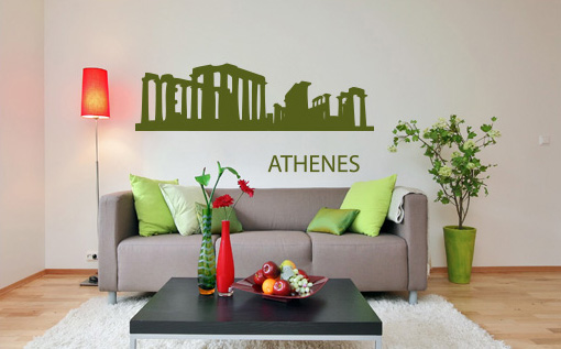 Stickere ATHENS NAME029