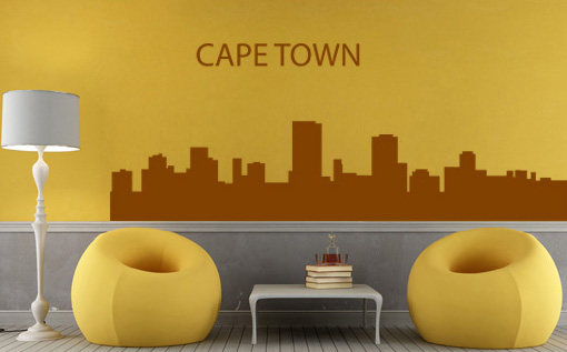 Stickere CAPE TOWN NAME030