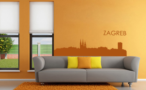Stickere ZAGREB NAME042