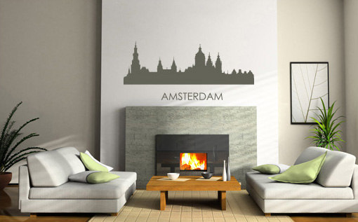 Stickere AMSTERDAM NAME046
