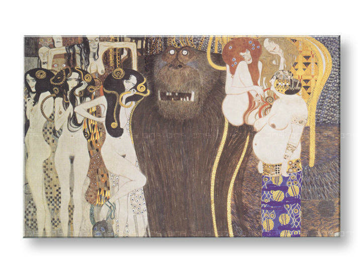Tablouri THE BEETHOVEN FRIEZE – Gustav Klimt
