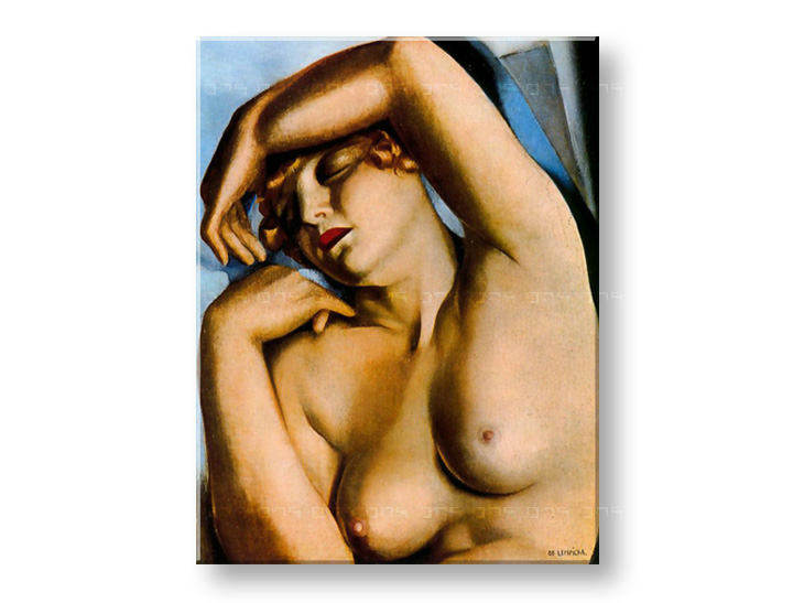 Tablouri SLEEPING WOMAN – Tamara de Lempicka