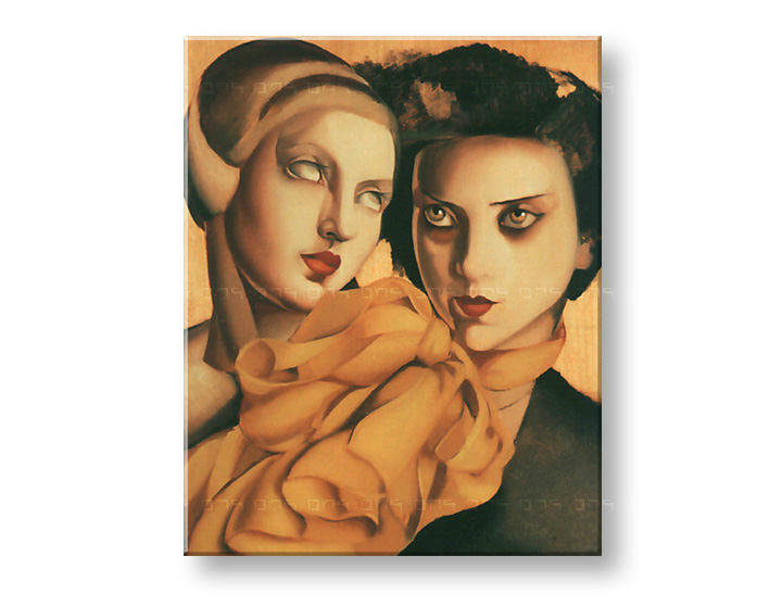 Tablouri YOUNG LADIES – Tamara de Lempicka