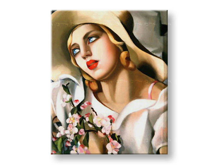 Tablouri PORTRET OF A YOUNG GIRL  – Tamara de Lempicka