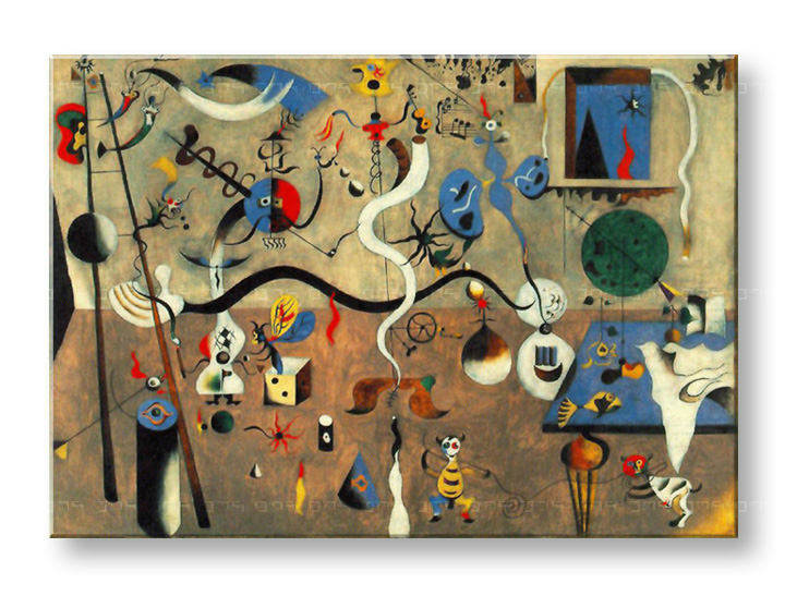 Tablouri CARNIVAL OF HARLEQUIN – Joan Miro