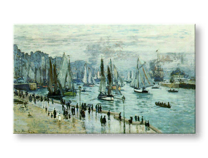 Tablouri FISHING BOATS LEAVIN THE HARBOR – Claude Monet