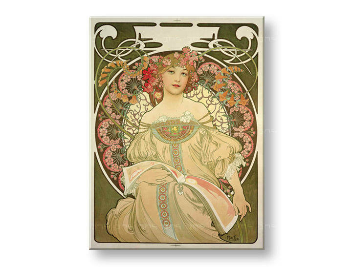 Tablouri DREAMING – Alfons Mucha