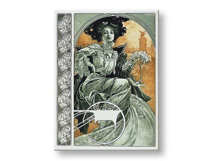 Tablouri A PLATE FROM DOCUMENTS DÉCORATIFS – Alfons Mucha