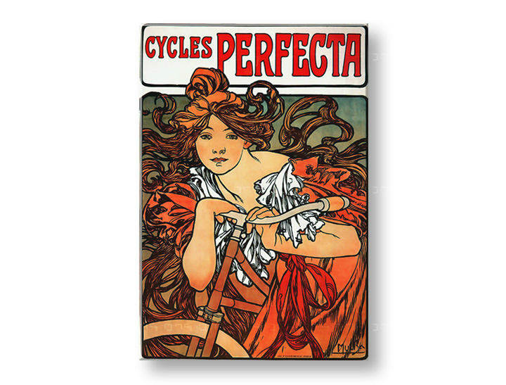 Tablouri CYCLES PERFECTA – Alfons Mucha