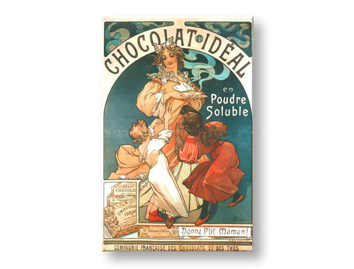 Tablouri CHOCOLAT IDEAL – Alfons Mucha