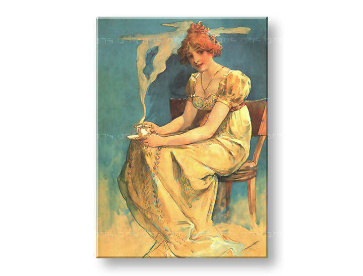 Tablouri COFFEE – Alfons Mucha