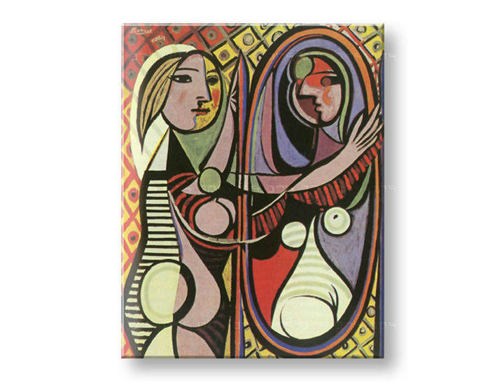 Tablouri GIRL IN FRONT OF MIRROR – Pablo Picasso