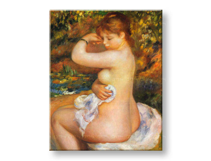 Tablouri AFTER THE BATH – Pierre Auguste Renoir