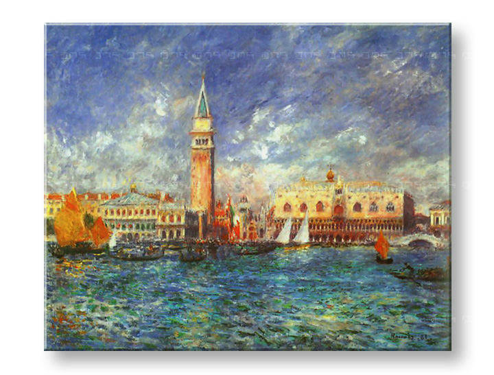 Tablouri THE DOGE'S PALACE – Pierre Auguste Renoir
