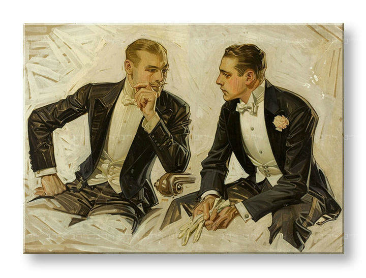 Tablouri THE DONCHESTER – THE CLUETT DRESS SHIRT – J.C. Leyendecker