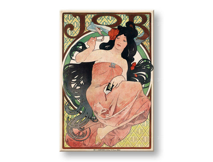 Tablouri JOB CIGARETTES – Alfons Mucha