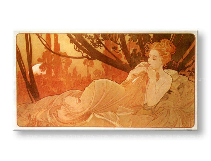 Tablouri TWILIGHT – Alfons Mucha