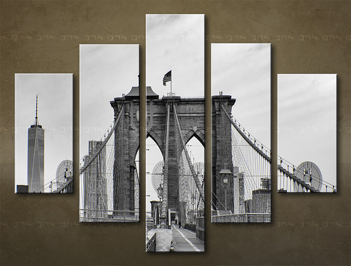 Tablouri canvas HD 5 piese ORAȘ / NEW YORK ME114O5