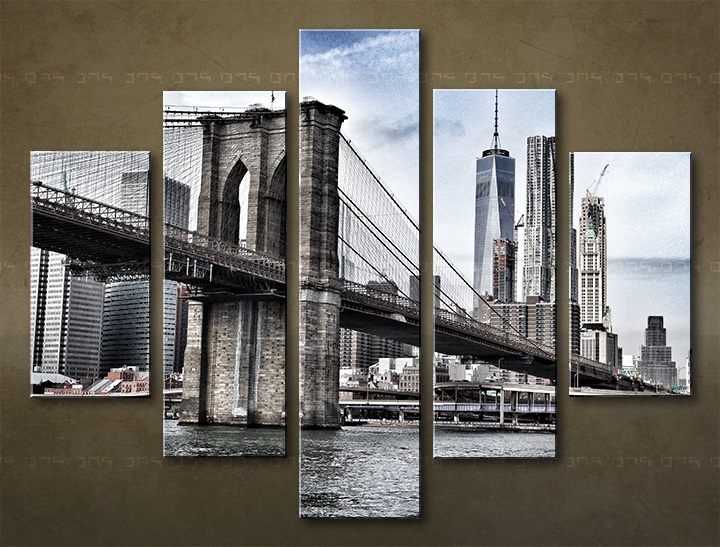 Tablouri canvas HD 5 piese ORAȘ / NEW YORK ME115O5