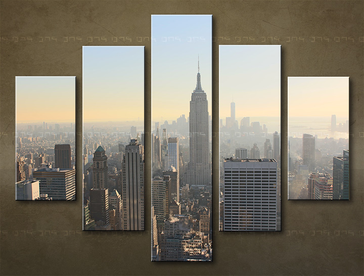 Tablouri canvas HD 5 piese ORAȘ / NEW YORK ME117O5