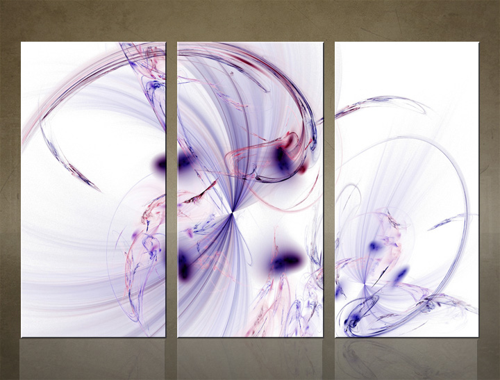 HD Tablouri 3-piese ABSTRACT AB009C3