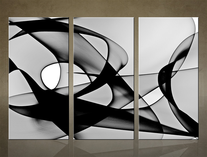 HD Tablouri 3-piese ABSTRACT AB013C3