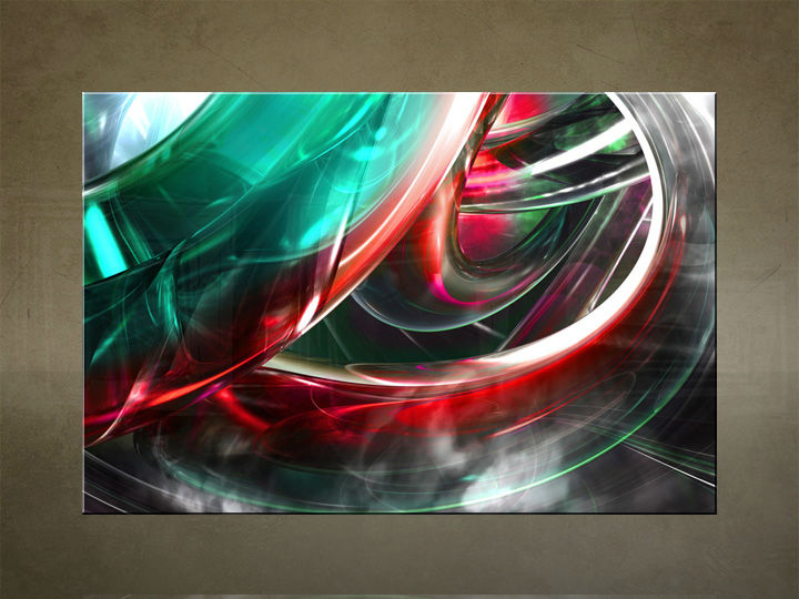 HD Tablouri 1-piese ABSTRACT AB029O1