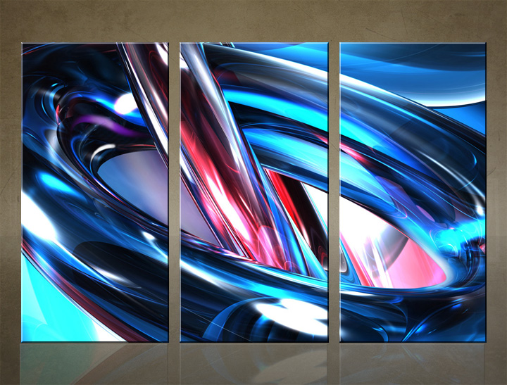 HD Tablouri 3-piese ABSTRACT AB030C3