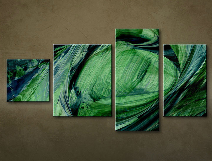 HD Tablouriri 4-piese ABSTRACT AB035M4