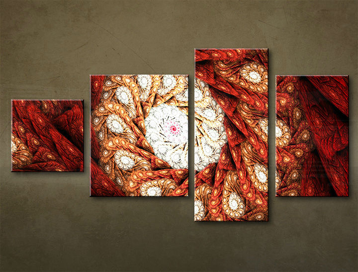 HD Tablouriri 4-piese ABSTRACT AB041M4