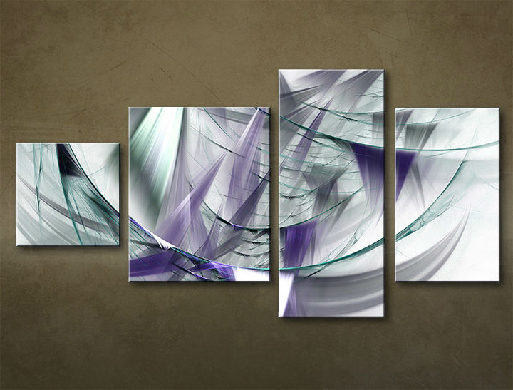 HD Tablouriri 4-piese ABSTRACT AB042M4