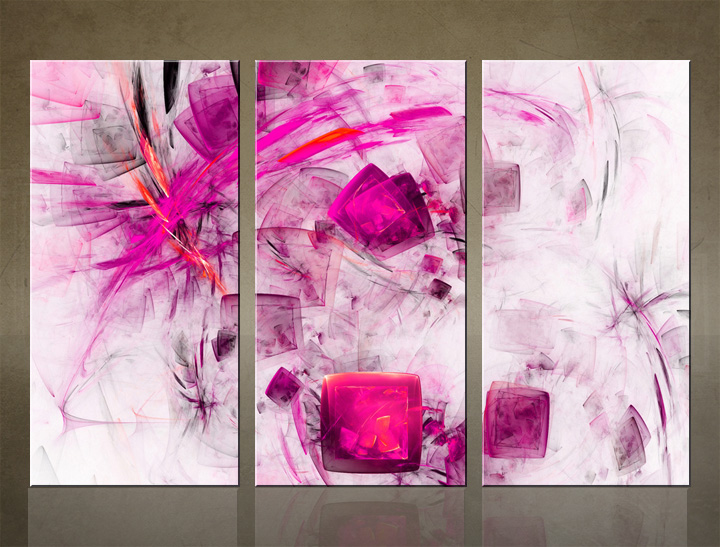 HD Tablouri 3-piese ABSTRACT AB045C3
