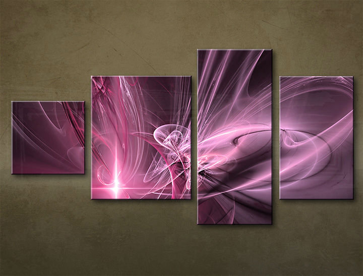 HD Tablouriri 4-piese ABSTRACT AB046M4