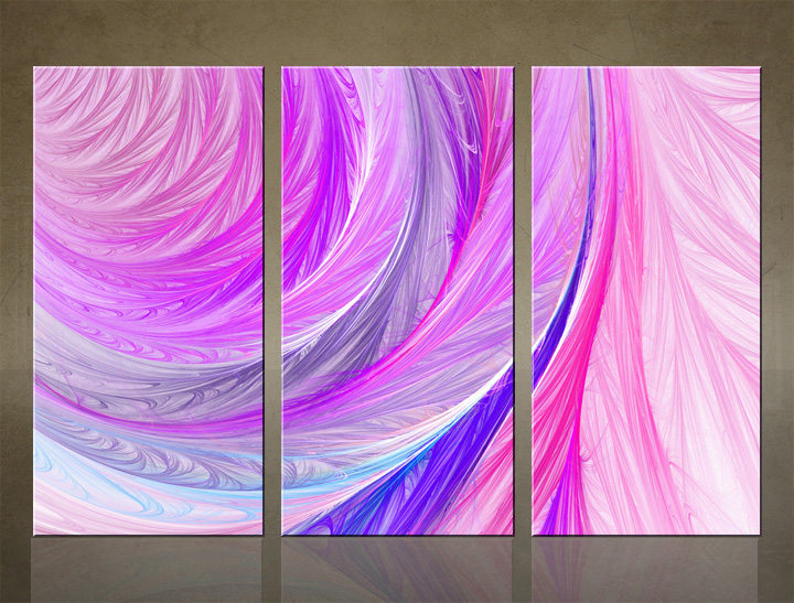 HD Tablouri 3-piese ABSTRACT AB049C3