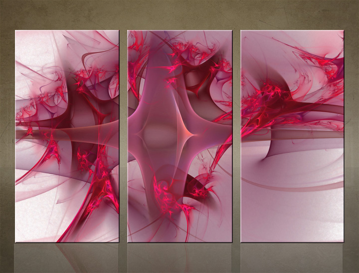 HD Tablouri 3-piese ABSTRACT AB051C3