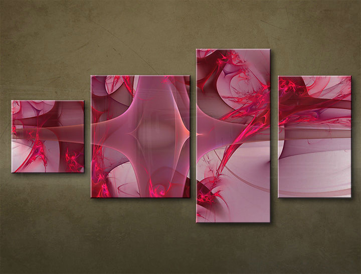 HD Tablouriri 4-piese ABSTRACT AB051M4