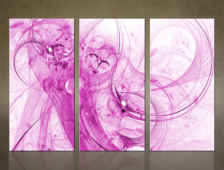 HD Tablouri 3-piese ABSTRACT AB057C3
